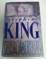 BOOK - Stephen King's Insomnia First 1st Edition Hardback Book Hodder 1994 Fic