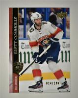 2020-21 UD Series 2 Base Exclusives #329 Brett Connolly /100 - Florida Panthers