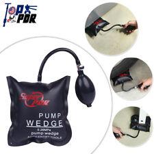 Black PDR Air Wedge Airbag Repair Car Door Window Lock Open Pump Wedge Tool New