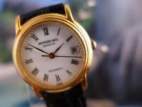 Classic Collectible Ladies' Raymond Weil Gold Plate Automatic Watch 26mm