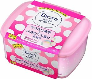 ☀ kao Biore Smooth Powder Sheet Soap Fragrance 36 Sheets in Case Deotrant