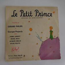 LE PETIT PRINCE ANTOINE DE SAINT-EXUPERY Gérard PHILIPPE disque vinyle 1954