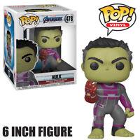 """Marvel Vengadores Hulk Figura De Lujo Con 6/"""" Tacho Guantelete Accesorio-E3350"""