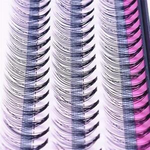 60 Bundle Individual Cluster Natural Long Eye Lashes Fake False Eyelashes Hot