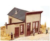 DURANGO PRESS 056 HO Newspaper Office Train Building Kit Bar Mills FREE SHIP