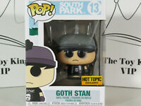 Funko Pop! SOUTH PARK Goth Stan Hot Topic Exclusive #13 Collectible Vinyl Figure