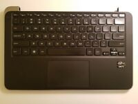 """Dell XPS 13 9333 13.3"""" Genuine Laptop Palmrest with Touchpad Keyboard HRG19 #1"""