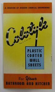Vintage Architecture Building Tile Catalog Colotyle Bathroom Kitchen Panels 1930