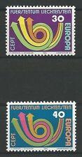 Liechtenstein Mi.Nr. 579-580** (1973) postfrisch/Europa