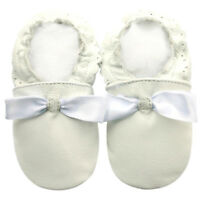 Littleoneshoes(Jinwood) Soft Sole Leather Baby Toddler PartyWhite Shoes 18-24M
