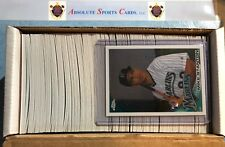 2010 TOPPS CHROME BASEBALL COMPLETE SET   1-220   W/MIKE STANTON ROOKIE RC