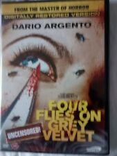 FOUR FLIES ON GREY VELVET DVD CLASSIC AWE DARIO ARGENTO MICHAEL BRANDON RARE