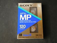 2 Sony 120 Metal MP 8mm Video Cassette Camcorder Tape 106 Meters P6-120mp