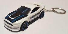 Hotwheels ford shelby GT350-R keyring diecast car