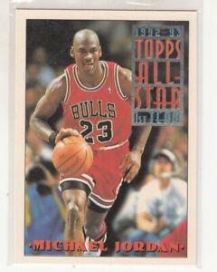 MICHAEL JORDAN 1993-94 Topps All-Star #101 Chicago Bulls The Last Dance Mint