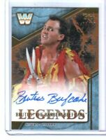 WWE Brutus The Barber Beefcake 2017 Topps Legends Bronze Autograph Card SN 78/99