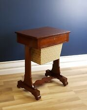 Rare Early NSW Colonial Australian Cedar Lady's Work Table Circa 1845