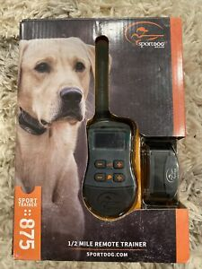 SportDOG SD-875 SportTrainer Edition Dog Training Trainer Hunting Shock Collar