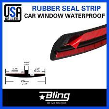 120inch Auto Seal Trim Windshield Sunroof Window Edge Rubber Strip EPDM Quality