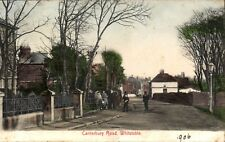 Whitstable. Canterbury Road by A.N.Filmer, Faversham.