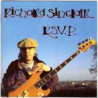 RICHARD SINCLAIR R.S.V.P. CD U.K. Prog/Canterbury Rock, ex-Caravan, rsvp