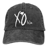 The Weeknd Xo Logo cowboys Snapback Baseball Hat Adjustable Cap