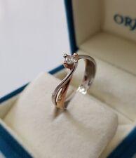 Solitärring Bicolor Comete Classic Gold 750 Diamant/Brillant 0,15ct