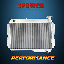 Aluminum Radiator For Toyota Landcruiser 60 Series FJ60 FJ61 FJ62 3F Petrol MT