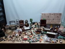 Vintage Dollhouse Furniture and Room Items super collection !