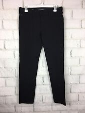 Liverpool 8 / 29 Pants Black Stretch Career Slacks trouser Straight ankle
