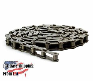 #A2060 Conveyor Roller Chain 10 Feet with 1 Connecting Link - Double Pitch
