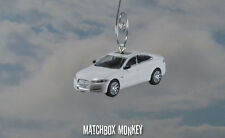 Jaguar XF Saloon Christmas Ornament 1/76 4 Door Polaris White SE Premium Adorno