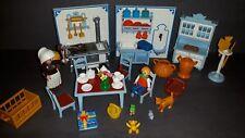 Playmobil Nostalgie Küche ROSA SERIE  Mit Zubehör SEHR SCHÖN NR:736