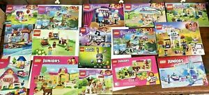 LEGO Instruction Manuals:Disney Frozen, Friends, etc