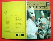 In A Hotel Ladybird vintage book accommodation People At Work Easy Reading 1972