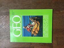 REVUE GEO 24 incas qom alaska trinidad vautours rolls royce  1981