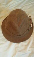 VINTAGE BORSALINO Grand Prix Paris 1900 men's tweed Fedora hat