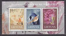 LITHUANIA 2013 **MNH SC#  S/S  Humans and Nature