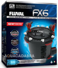 Fluval Fx6 Filtro Canister Externo medios de filtrado de Peces De Acuario Marino