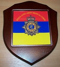 Australian Armed Forces, Royal Australian Army Medical Corps Wall Plaque.