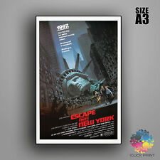 Escape from New York Framed A3 Poster