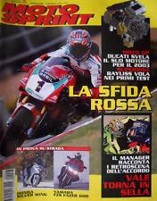 Motosprint 6 2002 Rossi torna in sella. Honda Silver Wing, Yamaha FZS Fazer 600