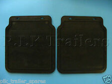"""FREE P&P* Rain Mud Flaps to fit 10"""" or 13"""" Wheels on Trailer Mudguards     #2679"""
