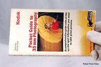 Kodak Pocket Guide to 35mm Photography Photo Genuine (EN) vintage 35mm