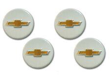 Cross White Wheel Center Hub Cap 4p 1set For 10 11 12 Chevy Spark