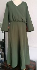 Lindy Bop Michelle Dark Green size 24 bnwt