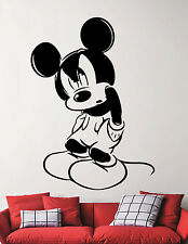 Disney Wall Sticker Mickey Mouse Vinyl Decal Cartoon Art Room Nursery Decor 3ehu