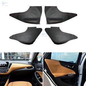 Door Armrest/Center Dashboard Panels Leather Cover For Chevrolet Malibu XL 16-18