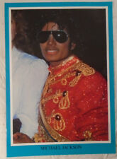 Michael Jackson 1984 Poster Zamania Holland Blue