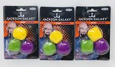 Jackson Galaxy Cat Dice 3-Pk x 3 (9 Total) Irregular Shape Puzzle Cat Toys Play